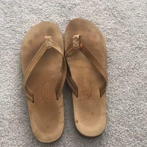 Light brown Rainbow sandals